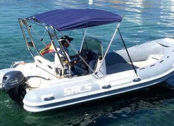Chartern Sie schlauch-/beiboot SACS SRL 500 in Port of Pollensa, Pollensa
