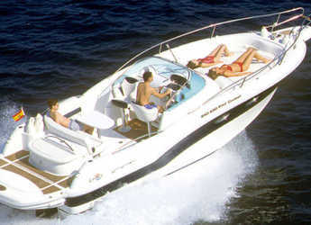 Rent a motorboat Rio day cruiser 850 in Port of Pollensa, Pollensa