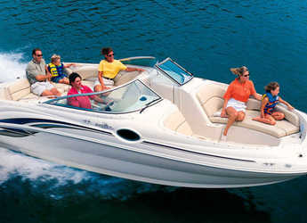 Rent a motorboat in Port of Pollensa - Sea Ray Sundeck 240