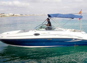 Rent a motorboat Sea Ray Sundeck 240 in Port of Pollensa, Pollensa