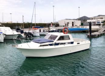 Alquilar lancha Guy Couach 730 en Playa Talamanca, Ibiza (ciudad)