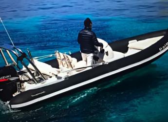 Rent a dinghy Roughneck Marine 636 in Marina Ibiza, Ibiza (city)