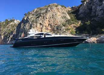 Rent a yacht in Marina de Dénia - Sunseeker Predator 74 JAX