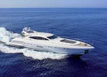 Rent a yacht in Contra Muelle Mollet - Mangusta 108