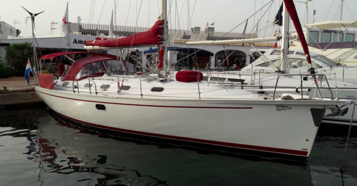 Rent a sailboat in Puerto Deportivo Tomas Maestre - Dufour Gib Sea 37