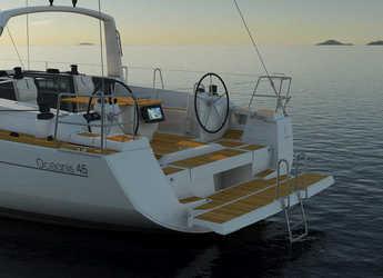 Rent a sailboat Oceanis 45 in Marina di Olbia, Olbia