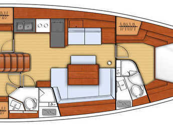 Louer voilier Oceanis 45 à Marina di Olbia, Olbia