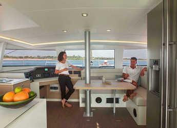 Chartern Sie katamaran Bali 4.5  in Port Ginesta, Barcelona