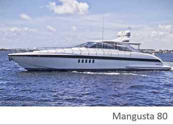 Alquilar yate en Marina Ibiza - Mangusta 80