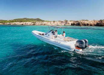 Chartern Sie schlauch-/beiboot Strider 10 in Marina Botafoch, Ibiza (stadt)