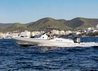 Rent a dinghy in Marina Botafoch - Strider 10