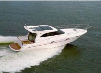 Rent a yacht in Marina Ibiza - Galeon 33