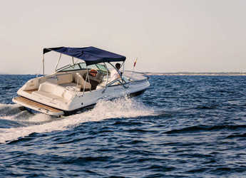 Rent a motorboat Rinker Captiva 282 in Marina Botafoch, Ibiza (city)