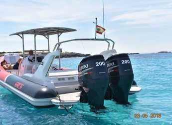 Chartern Sie schlauch-/beiboot Sacs Samuray 870 in Marina Botafoch, Ibiza (stadt)