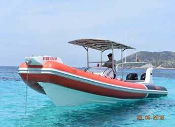Rent a dinghy in Marina Botafoch - Sacs Samuray 870