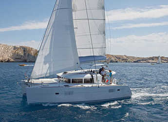 Rent a catamaran in Marina Skiathos  - Lagoon 400 S2
