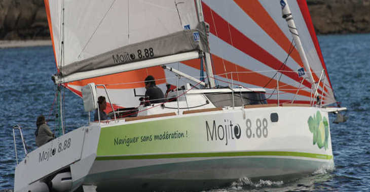 Alquilar velero Mojito 888 en Le port de la Trinité-sur-Mer, La Trinité sur Mer
