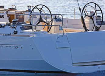 Rent a sailboat Sun Odyssey 519 in Marina di Olbia, Olbia