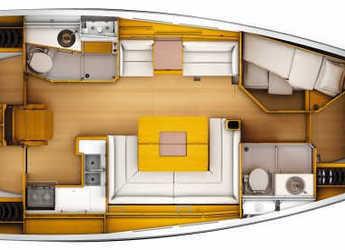 Louer voilier Sun Odyssey 449 à Marina di Olbia, Olbia