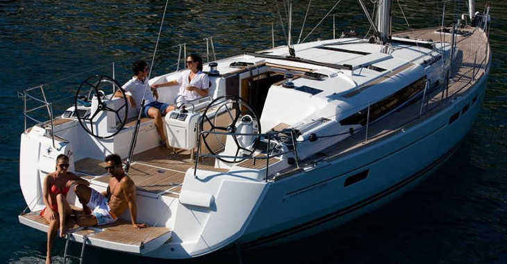 Rent a sailboat in Paros - Sun Odyssey 509