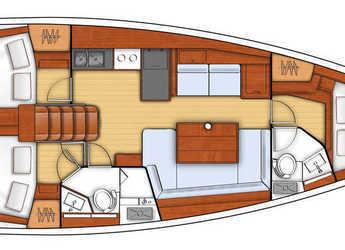 Louer voilier Oceanis 41.1 à Marina di Olbia, Olbia