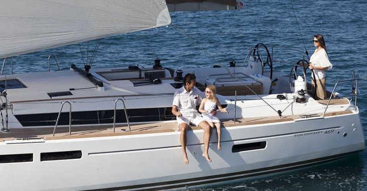 Rent a sailboat Sun Odyssey 469 in Skiathos , Skiathos