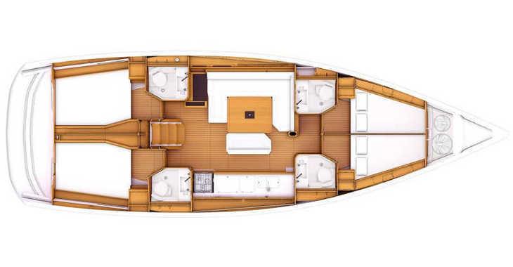 Rent a sailboat in Skiathos  - Sun Odyssey 469