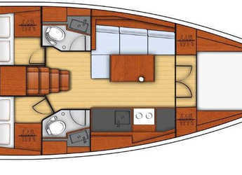 Rent a sailboat Oceanis 38 in Marina di Olbia, Olbia