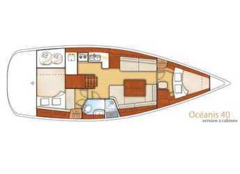 Alquilar velero Beneteau Oceanis 40 en Puerto Deportivo Pasito Blanco, Gran Canaria