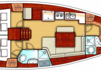 Alquilar velero Oceanis 40 en Puerto de blanes, Girona