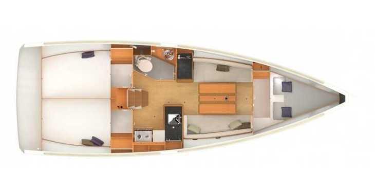 Rent a sailboat in Lefkas Nidri - Sun Odyssey 349