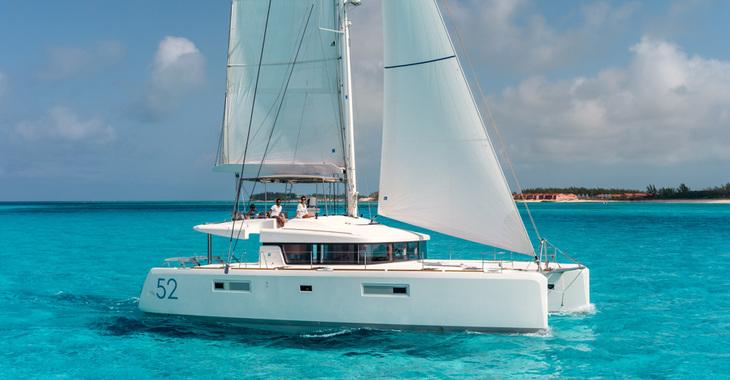 Alquilar catamarán Lagoon 52 en Port Louis Marina, Saint George´s