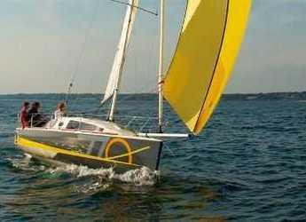 Chartern Sie segelboot Django 770 in Le port de la Trinité-sur-Mer, La Trinité sur Mer