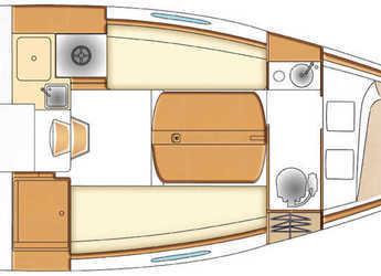 Chartern Sie segelboot First 25 S in Le port de la Trinité-sur-Mer, La Trinité sur Mer