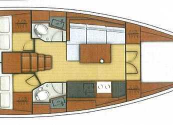 Chartern Sie segelboot Oceanis 38.1 in Port of Lefkada, Lefkas / Nidri