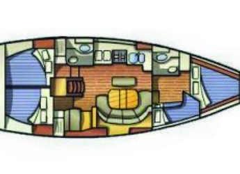Chartern Sie segelboot Oceanis 411 in Port of Lefkada, Lefkas / Nidri