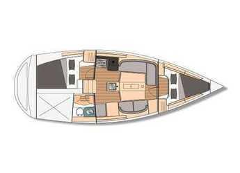 Chartern Sie segelboot Feeling 32 DI in Le port de la Trinité-sur-Mer, La Trinité sur Mer