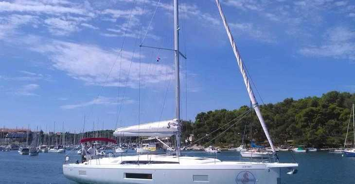 Rent a sailboat in Split (ACI Marina) - Oceanis 51.1