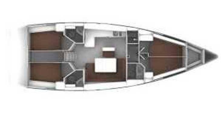 Rent a sailboat in Alimos Marina Kalamaki - Bavaria Cruiser 46