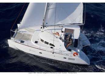 Rent a catamaran in Marina Le Marin - Lagoon 380 PREMIUM