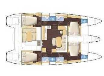 Chartern Sie katamaran Lagoon 421 in Preveza Marina, Preveza