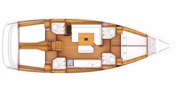 Rent a sailboat in Alimos Marina Kalamaki - Sun Odyssey 479