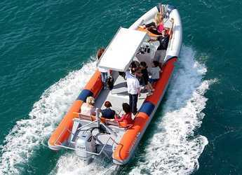 Rent a motorboat in Ploče City Port - Highfield Patrol 860 SAR
