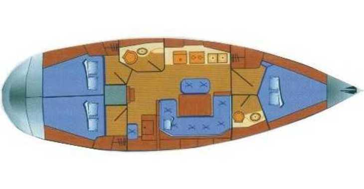 Rent a sailboat in Marina Gouvia - Bavaria 41