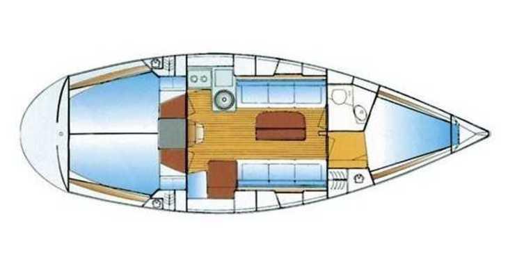 Rent a sailboat in Marina Gouvia - Bavaria 34