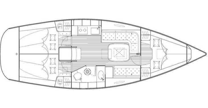 Rent a sailboat in Alimos Marina Kalamaki - Bavaria 35 Cruiser