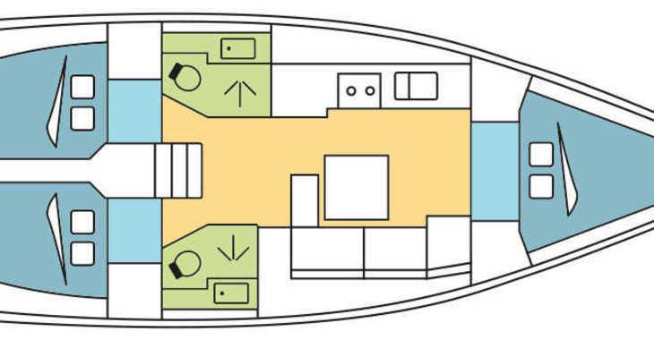 Alquilar velero Dufour 382 en Zaton Marina, Zaton