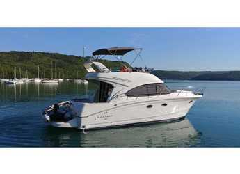 Rent a motorboat in Trget Port - Beneteau Antares 36 Fly