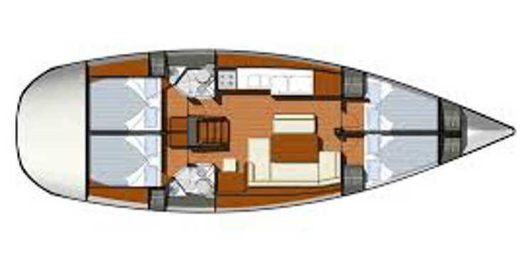 Rent a sailboat in Marina Gouvia - Sun Odyssey 44 i