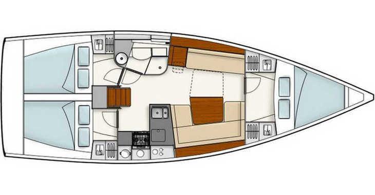 Louer voilier à Pula (ACI Marina) - Hanse 385